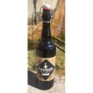 Bière ambrée brasseé à l'eau du Verdon