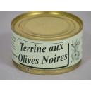 Terrine aux olives noires